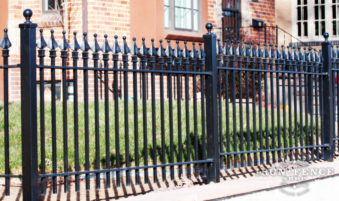 Wrought Iron Fences Iron Fence Panels Wrought Iron Fence