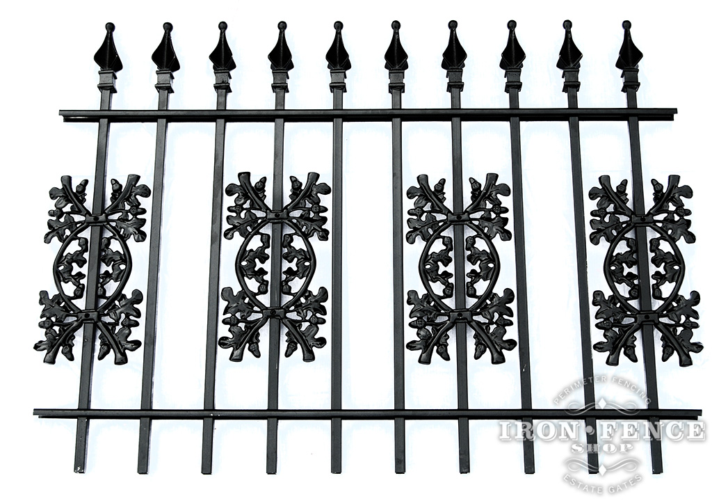 Gallery 3 Wrought Iron Fence Iron Aluminum Fence Photo