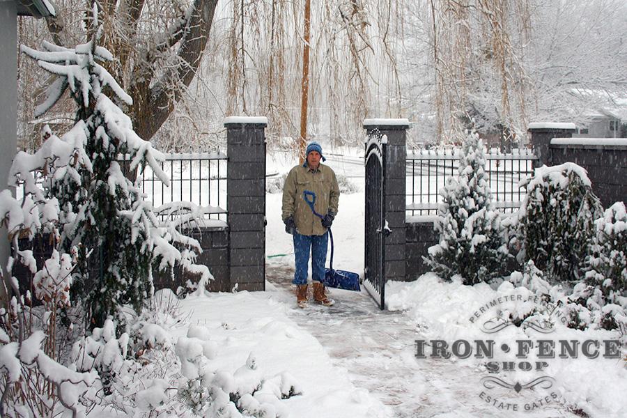 Gallery 3 Wrought Iron Fence Iron Aluminum Fence Photo