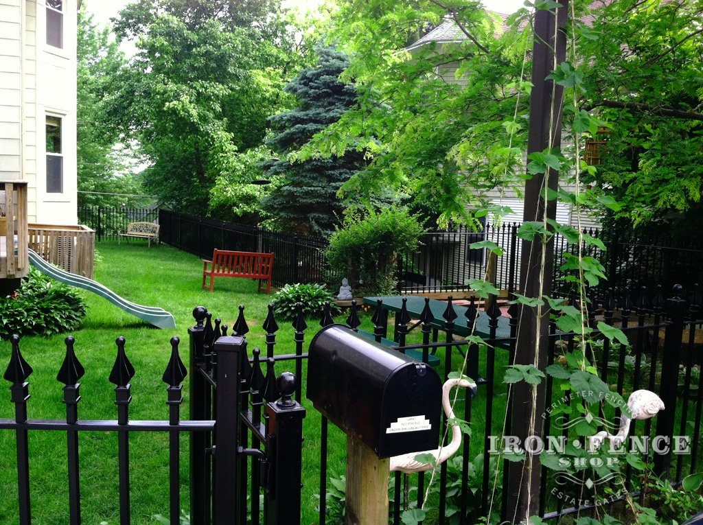Gallery 4 Ft High Picket Fence Iron Aluminum Fence Photo