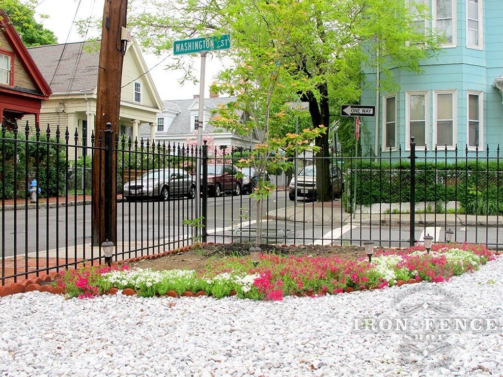 Wrought Iron Gates: Iron / Aluminum Fence Photo Gallery