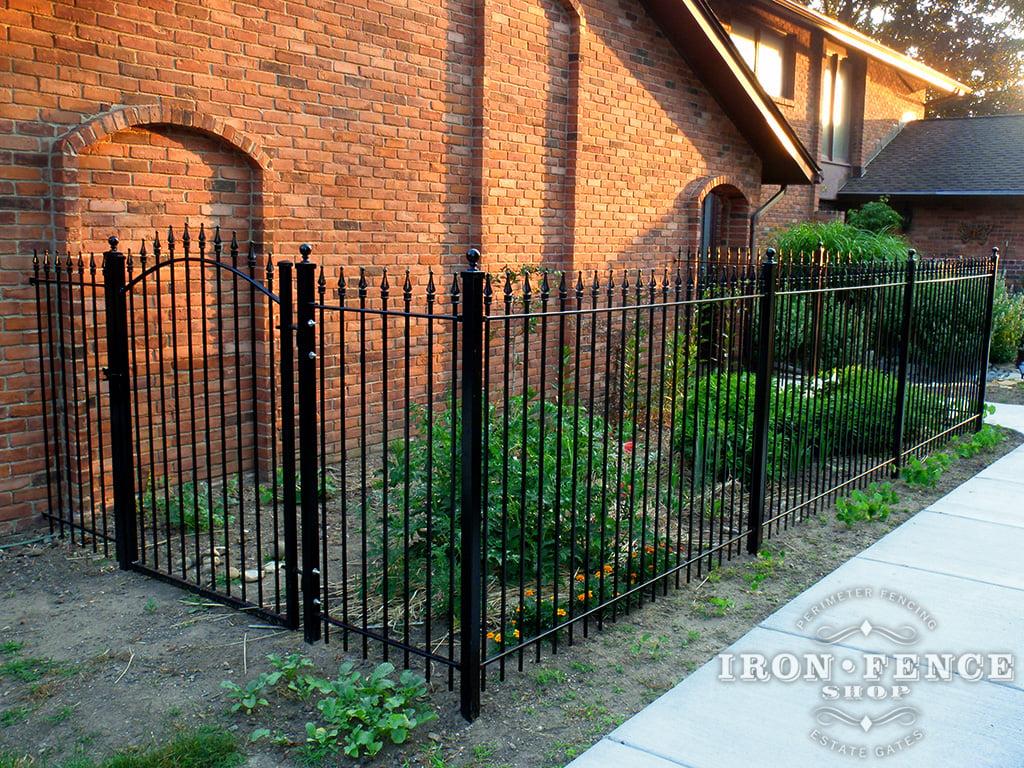 Garden Walk Buffalo Through The Garden Gates 6: Iron / Aluminum Fence Photo Gallery