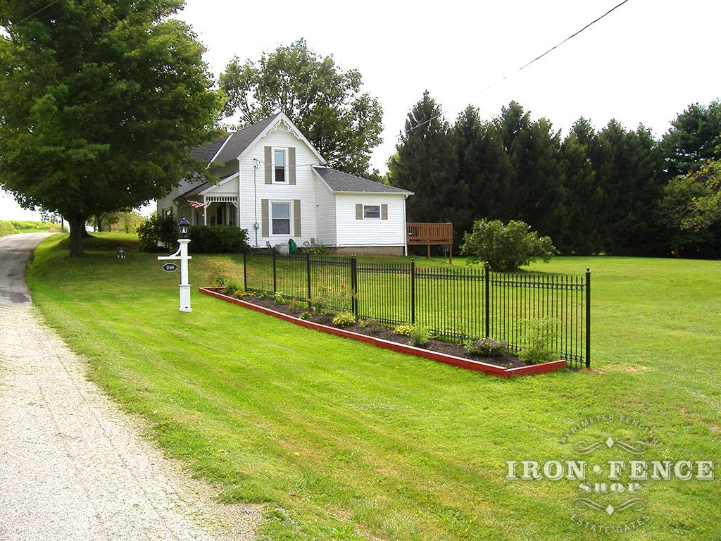 Iron Aluminum Fence Photo Gallery Iron Fence Shop