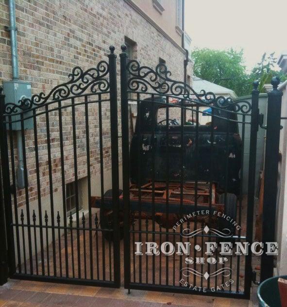 Custom Fence Design Ideas Iron Aluminum And Gates Ifs