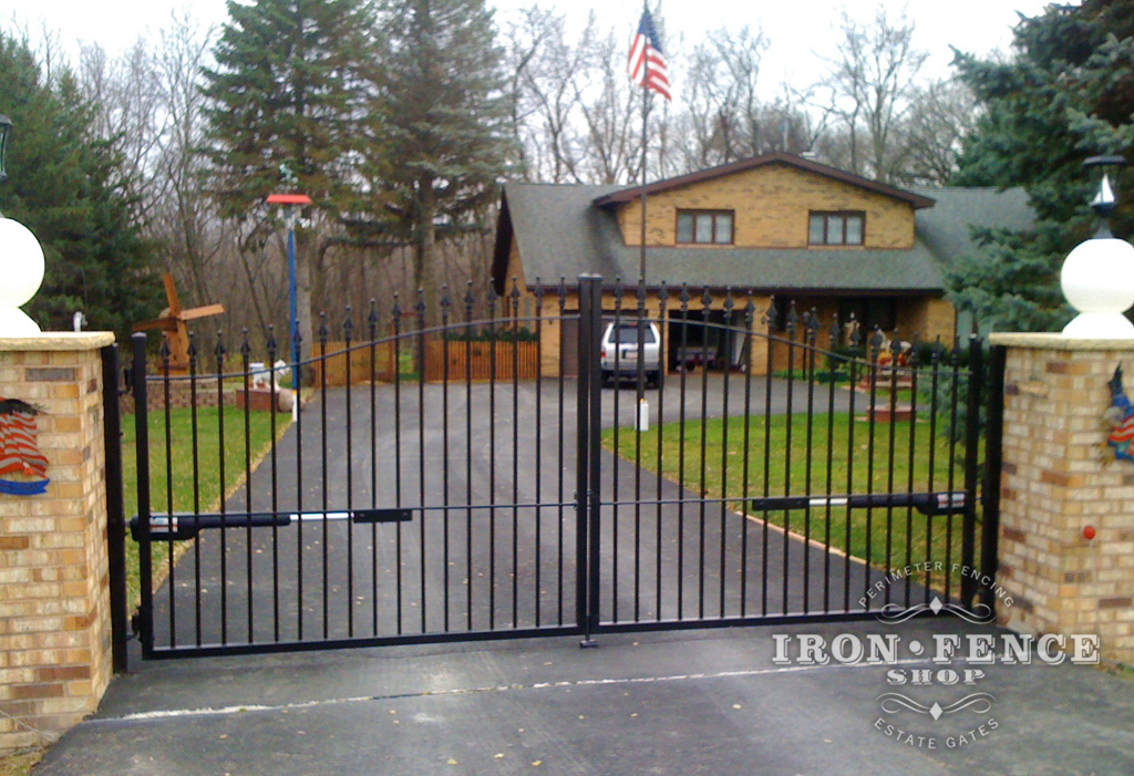 Security screen doors driveway gates