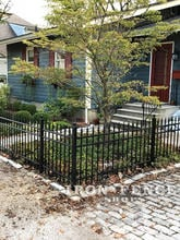 Our 3ft Tall Infinity Aluminum Fence in Classic Style and Traditional Grade