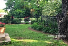 4ft Tall Wrought Iron Fence in Classic Style and Traditional Grade
