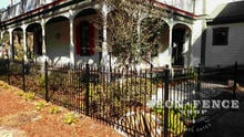 Wrought Iron Fence Panels in Classic Style and Traditional Grade (4ft Tall)