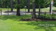 4ft Tall Wrought Iron Fence in Traditional Grade and Classic Style