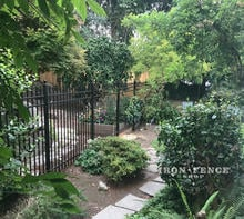 Our 5ft Tall Infinity Aluminum Fence in Classic Style and Traditional Grade