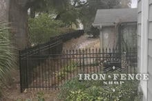 5ft Tall Infinity Aluminum Fence in Signature Grade and Classic Style