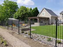Our 6ft Tall Classic Style Iron Fence in Traditional Grade