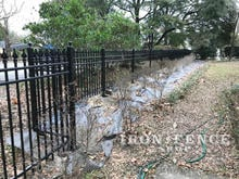 4ft Tall Infinity Aluminum Fence in Classic Style in Signature Grade