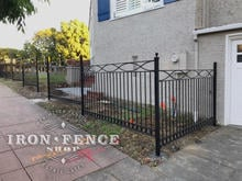 Customer Designed Custom Iron Fence Panels