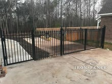 Wrought Iron Signature Grade 5x4 Single and 5x8 Double Gates in Classic Style
